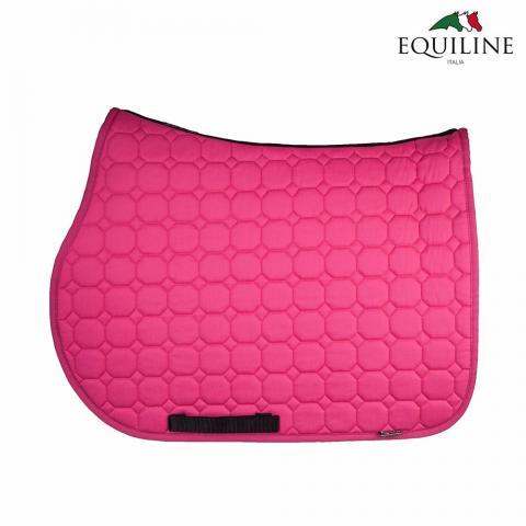 Czaprak Equiline Octagon różowy