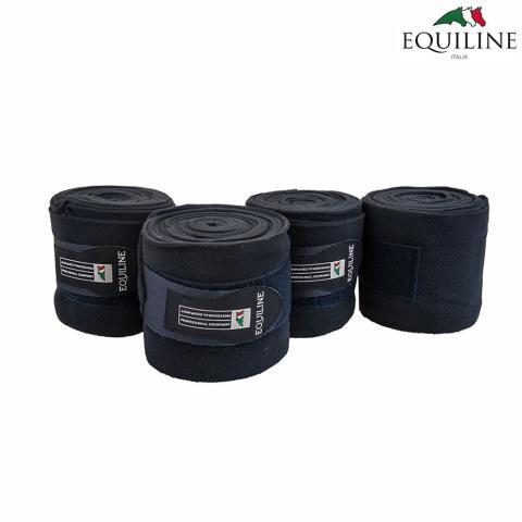 Bandaże polarowe Equiline Polo granatowe