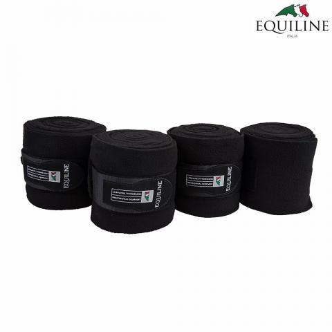 Bandaże polarowe Equiline Polo czarne