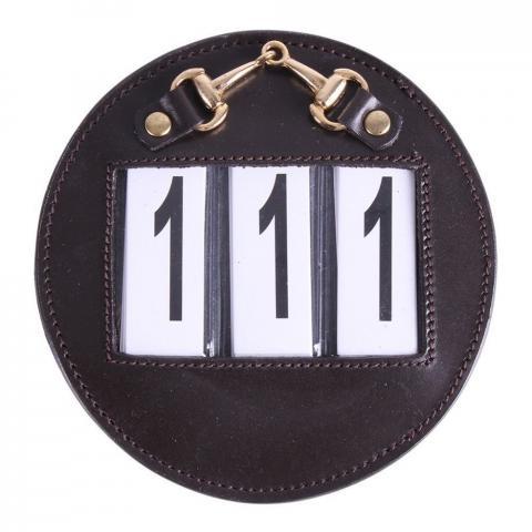 Numery startowe QHP Ricki brązowe