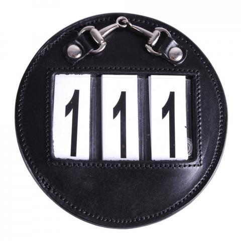 Numery startowe QHP Ricki czarne
