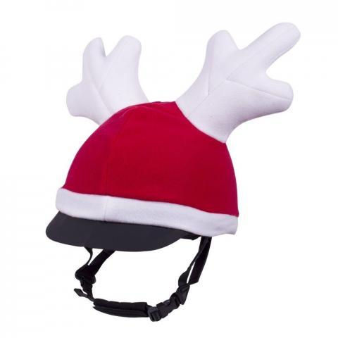 Czapka bożonarodzeniowa QHP z rogami renifera