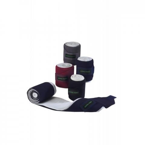 Bandaże elastyczne z podkładem Ekkia granatowe