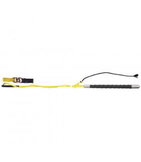 Bat do lonżowania z krętlikiem FP żółty