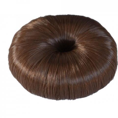 Opaska-kok na włosy Ekkia jasnobrązowa