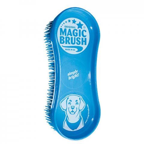 Szczotka do psa Magic Brush Blue Sky niebieska