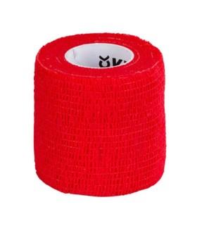 Bandaż samoprzylepny EquiLastic Kerbl czerwony