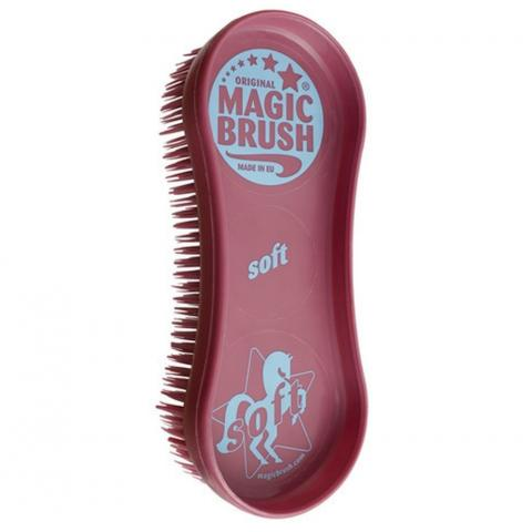 Szczotka Magic Brush Soft bordowa