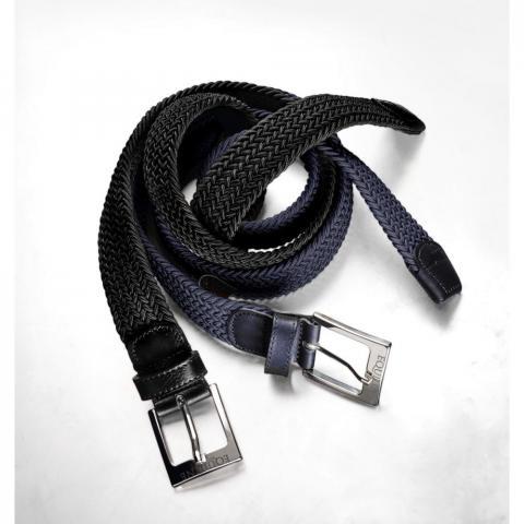 Pasek do spodni elastyczny Equiline One czarny