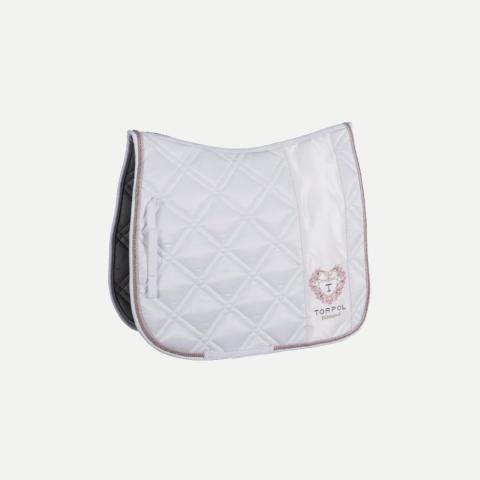 Czaprak Torpol  ujeżdzeniowy Diamond biały