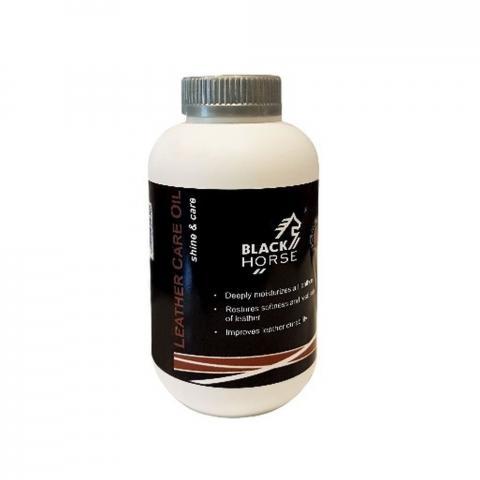 Olej do wyrobów skórzanych Black Horse