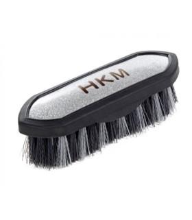Szczotka ryżowa HKM Soft Touch czarno-srebrna