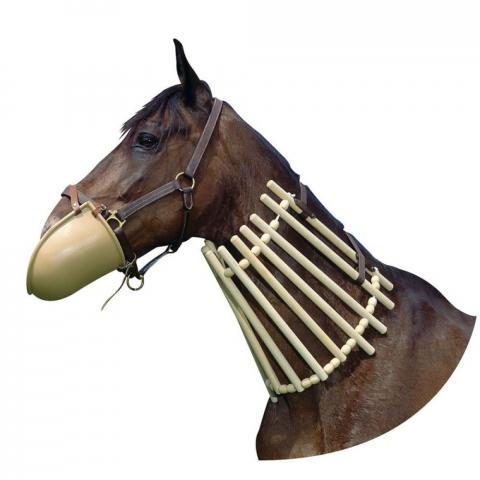 Drabinka na szyję konia Ekkia drewniana