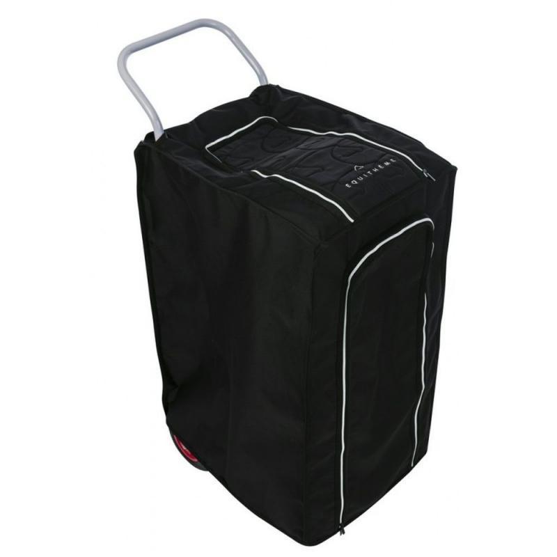 Pokrowiec na wózek stajenny Ekkia poliestrowy czarny