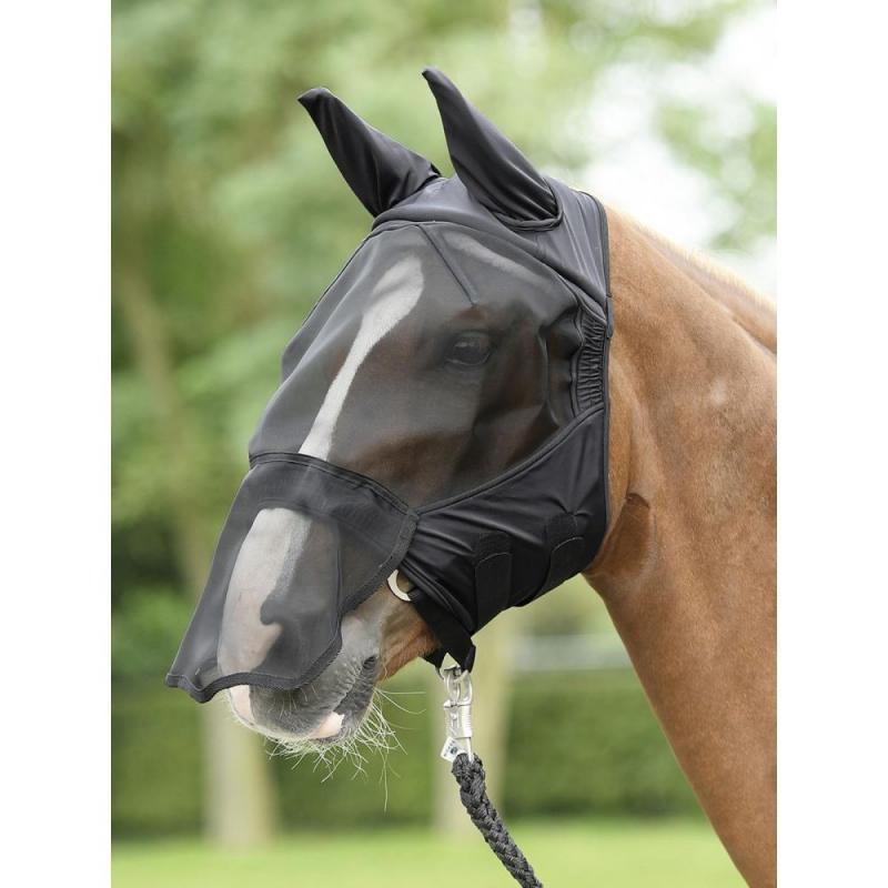 Maska na owady Busse Fly Buckler Plus czarna