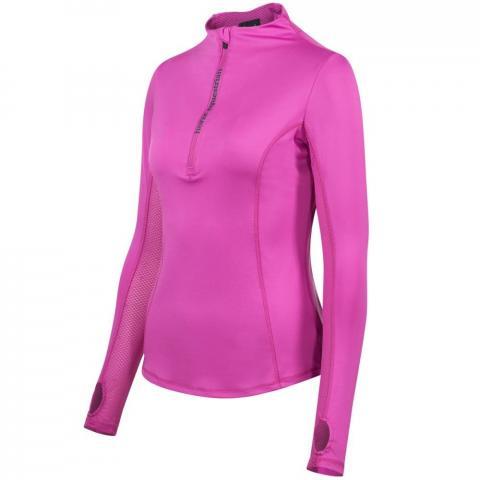Bluza funkcyjna Brittany różowa Horze