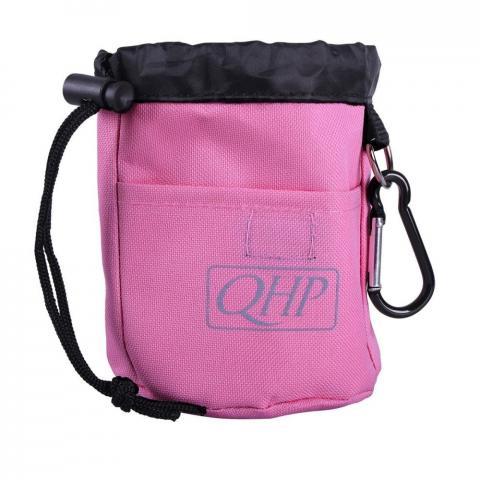 Torebka-sakiewka na smakołyki QHP różowa