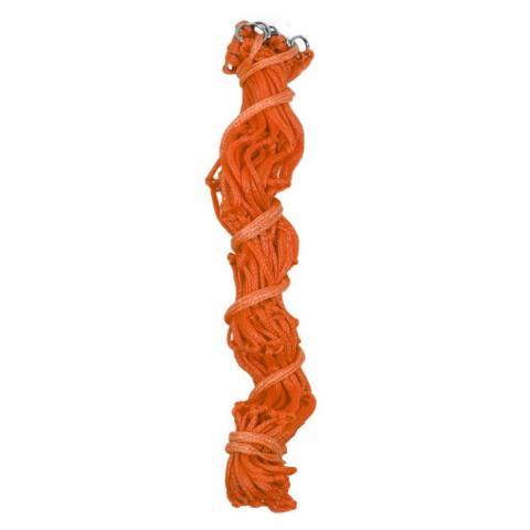 Siatka na siano QHP duże oczka 8cm pomarańczowa