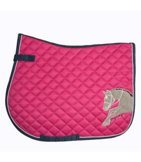 Czaprak HKM Piccola Cavallo różowy