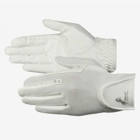 Rękawiczki letnie Horze białe