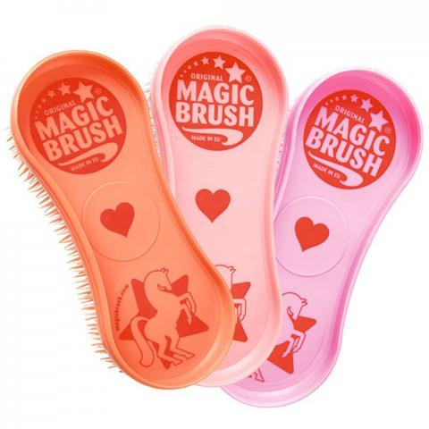 Szczotka Magic Brush True Love brzoskwiniowa