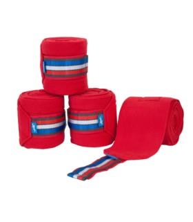 Bandaże polarowe Schockemoehle czerwone