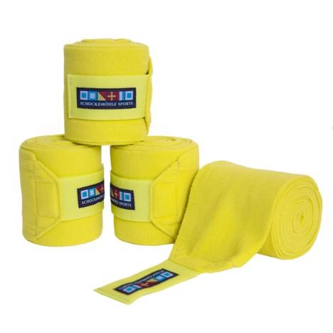 Bandaże polarowe Schockemohle limonkowe