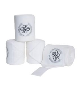 Bandaże polarowe Schockemoehle białe