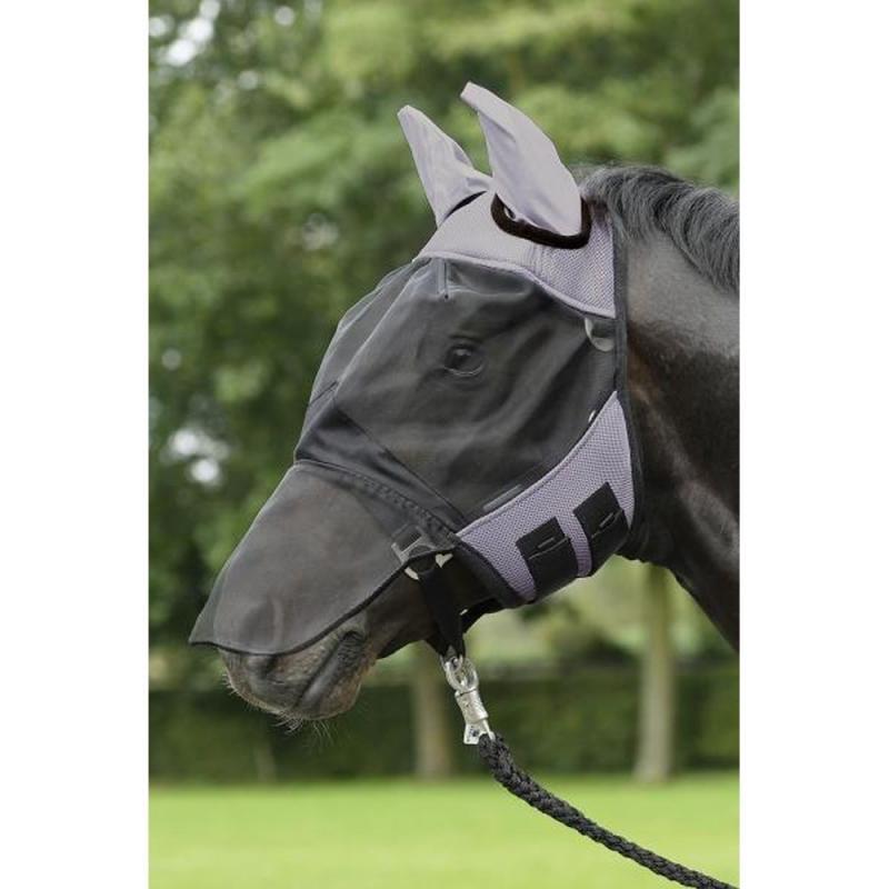 Maska na owady Busse Fly Cover Pro czarno-szara