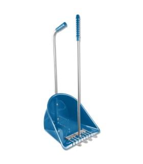 Zestaw do sprzątania odchodów Waldhausen Mistboy niebieski