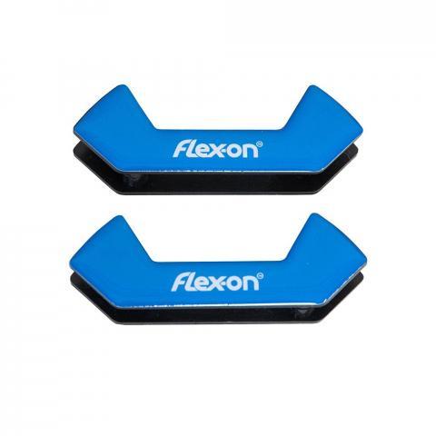 Wkładki magnetyczne do strzemion bezpiecznych Flex-on niebieskie