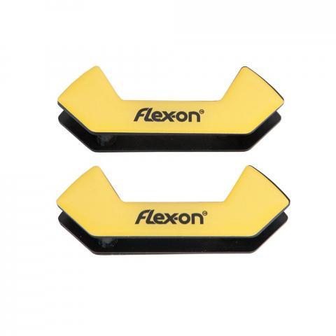 Wkładki magnetyczne do strzemion bezpiecznych Flex-on żółte