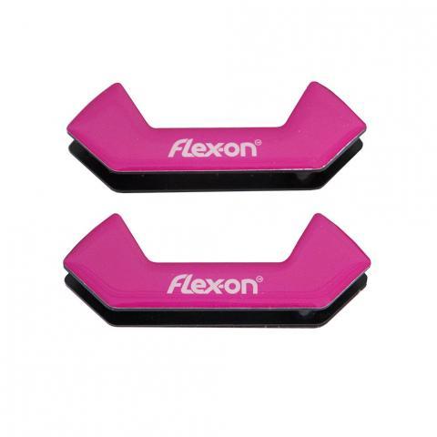 Wkładki magnetyczne do strzemion bezpiecznych Flex-on różowe