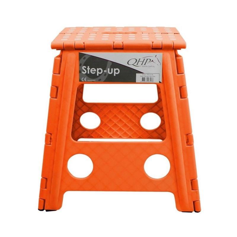Stołek składany QHP orange, pomarańczowy