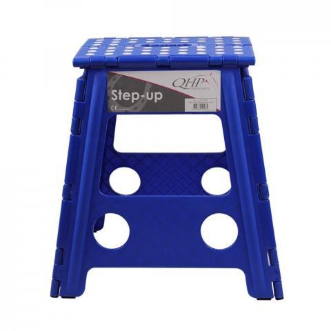 Stołek składany QHP Cobalt Blue, niebieski