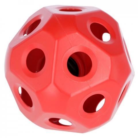 Piłka - pojemnik na siano Kerbl czerwona