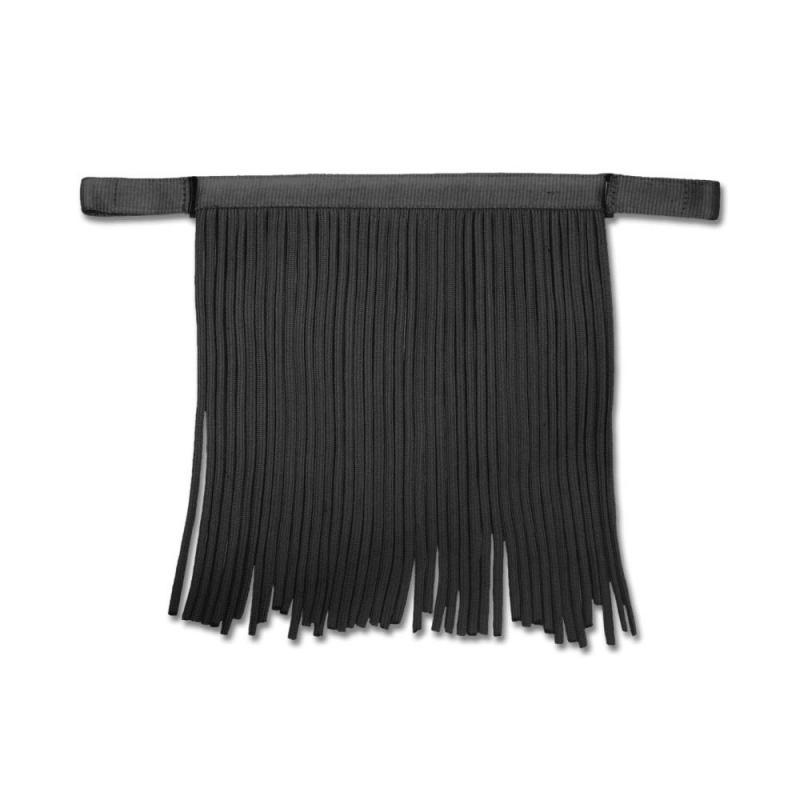 Frędzle przeciw muchom Waldhausen Salon czarne