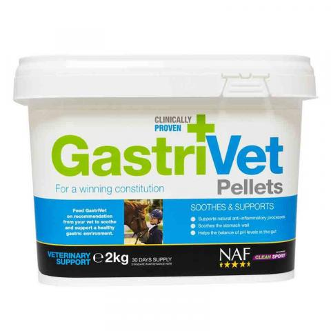Preparat regulujący układ trawienny i Ph żołądka NAF GastriVet