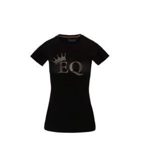 Koszulka Equestrian Queen Zoe czarna