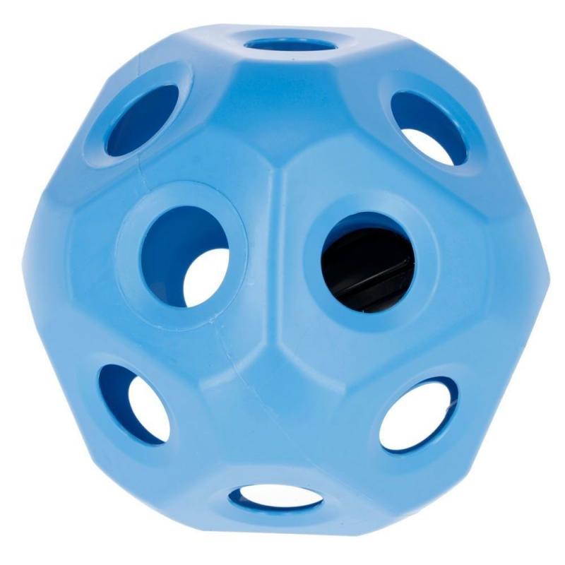 Piłka - pojemnik na siano Kerbl niebieska