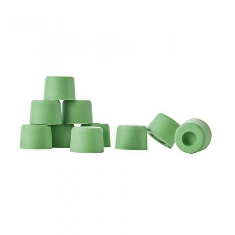 Zaślepki gumowe do podków Busse, zielone 40 sztuk
