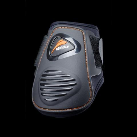 Ochraniacze eQuick eLight Velcro tył czarne