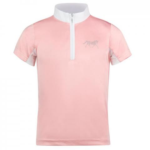 Koszulka konkursowa dziecięca Horze Lena różowa