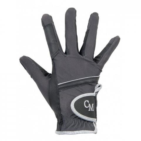 Rękawiczki HKM Soft Powder ciemnoszare