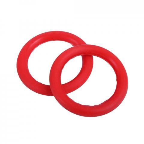 Gumki do strzemion bezpiecznych QHP czerwone 2 sztuki