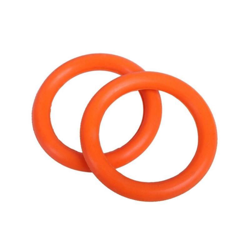 Gumki do strzemion bezpiecznych QHP pomarańczowe 2 sztuki