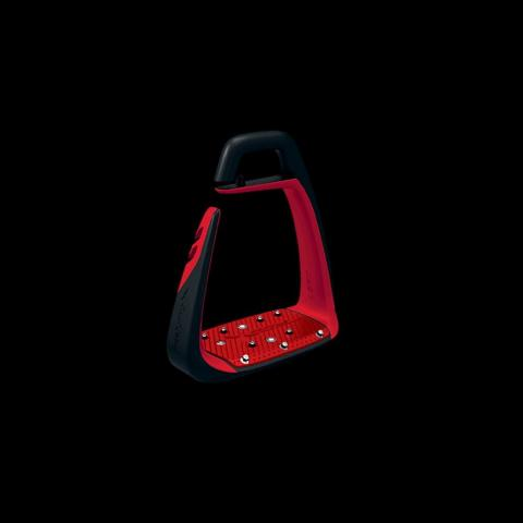 Strzemiona Freejump Soft Up Classic dorośli black-red, czarny-czerwony