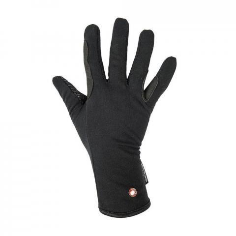 Rękawiczki HKM Professional Fleece & Silicone czarne