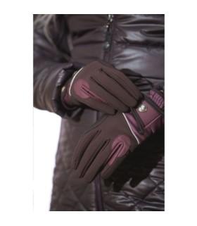 Rękawiczki HKM Odello brązowe