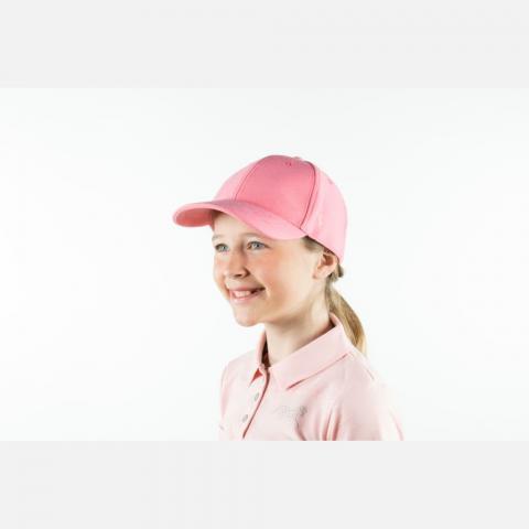 Bejsbolówka dziecięca Horze różowa